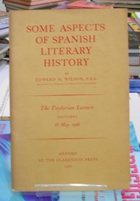 Some Aspects of Spanish Literary History