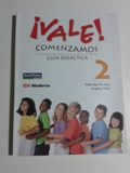 Vale! Comenzamos 2 Guia Didactica C/ Cd