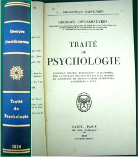 Traité de Psychologie