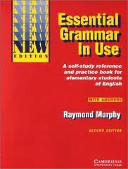 Essential Grammar in Use - Capa Vermelha