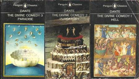 The Divine Comedy 3 Vol Hell Purgatory Paradise