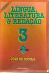Língua, Literatura e Redação 1 de José de Nicola pela Scipione (1993)