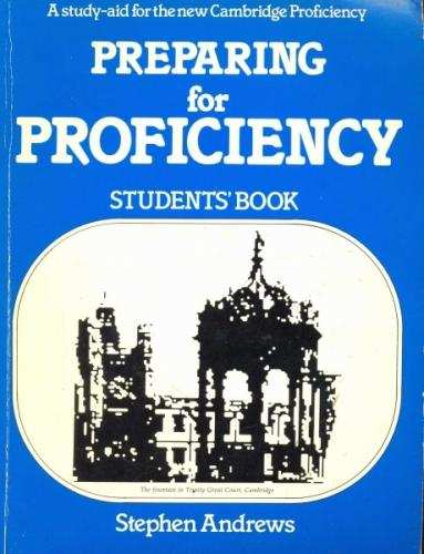 Preparing For Proficiency Student S Book