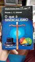 Coleção Primeiros Passos 24: o Que É Sindicalismo