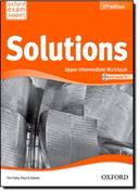 Solutions : Upper-intermediate - Workbook Book (with Cd)