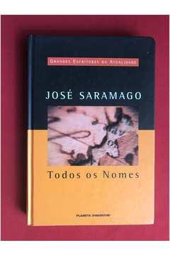 daeb7a6d7 Livro: Todos os Nomes - Jose Saramago | Estante Virtual