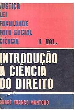 Introdução à Ciência do Direito 2.º Volume