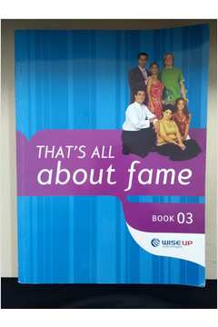 Thats All About Fame - Book 3