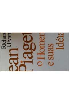 8daf68bfaef Livro  Jean Piaget o Homem e Suas Ideias - Richard I Evans
