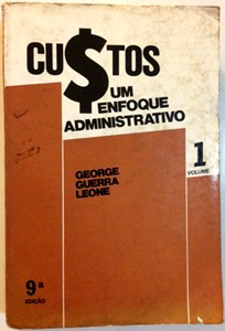 Custos: um Enfoque Administrativo Volume 1