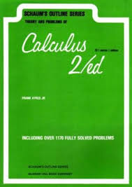 Calculus 2ªed  Schaums Outline Series Theory and Problems of - Includi