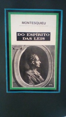 Do Espírito das Leis - 2 Volumes