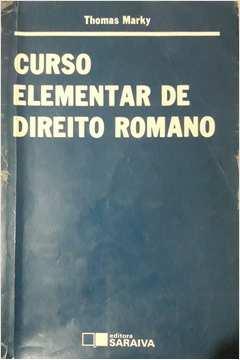 Curso Elementar de Direito Romano
