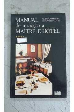 Manual de Iniciação a Maitre Dhôtel