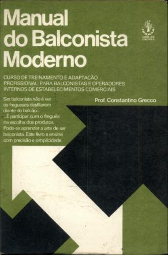 Biblioteca êxito 28 - Manual do Balconista Moderno