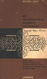 An International Readers Dictionary