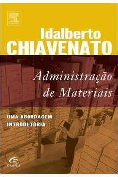 Administração de Materiais - uma Abordagem Introdutória