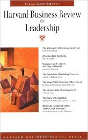 Harvard Business Review on the Test of a Leader