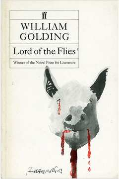 Lord of the Flies de William Golding pela Faber and Faber (1954)