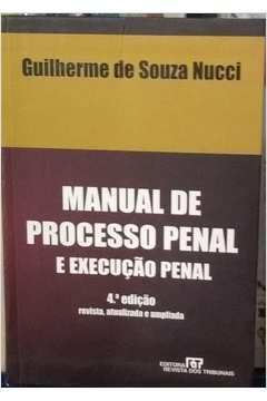 Manual de Processo Penal e Execução Penal