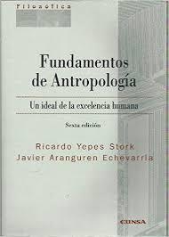 yepes stork fundamentos de antropologia