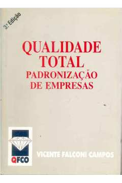 Livro Qualidade Total Padronizacao De Empresas Vicente border=