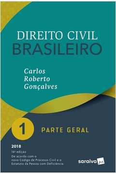 Direito Civil Brasileiro 1 - Parte Geral - 16ª Edição