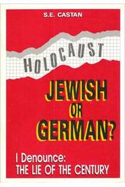 Holocaust: Jewish Or German?