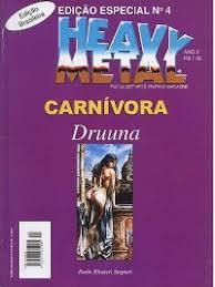 Heavy Metal Edicao Especial Ano  Carnivora Drunna