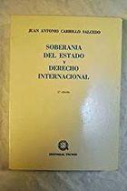 Soberania del Estado y Derecho Internacional de Juan Antonio Carrillo Salcedo pela Tecnos (1976)