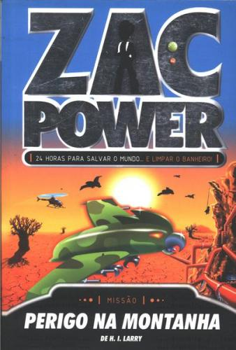 Zac Power 8 - Zac Power Perigo na Montanha