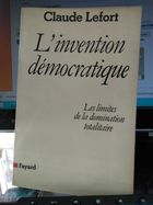 Linvention Democratique