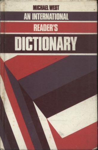 An International Readers Dictionary 1984