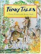 Funky Tales de Vivian French and Korky Paul pela Puffin Books (2001)