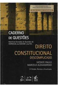 direito constitucional descomplicado 2012
