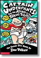 Captain Underpants 2 and the Attack of the Talking Toilets Captain