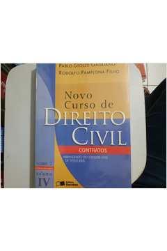 Novo Curso de Direito Civil Contratos Tomo 2 Volume IV