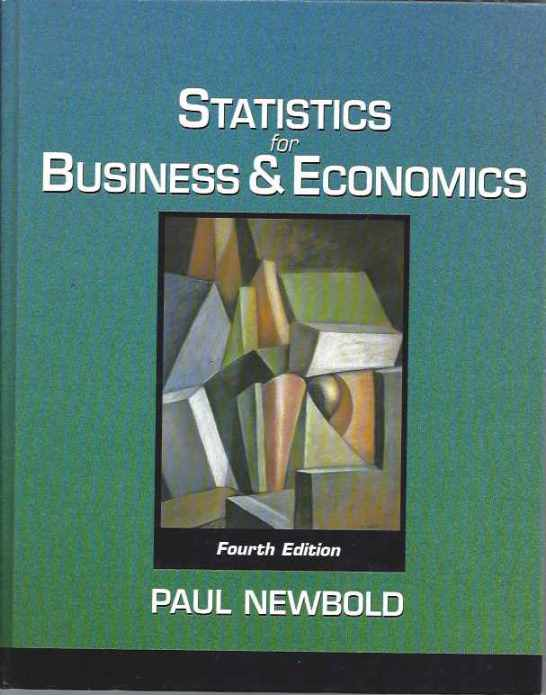 Statistics For Business e Economics - Fourth Edition