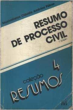 Coleção Resumos - Resumo de Processo Civil