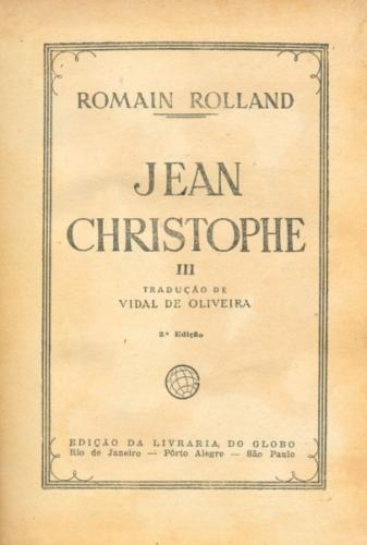 Jean Christophe Vol iii