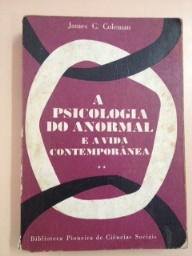 A Psicologia do Anormal e a Vida Contemporânea - Segundo Volume
