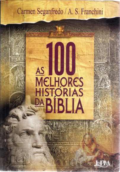 capa de 'As 100 melhores histórias da Bíblia'