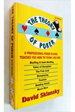 The Theory of Poker - Fourth Edition - 4ª Edition