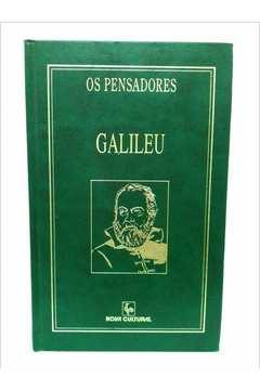Os Pensadores- Galileu - Capa Dura Verde