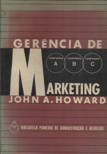 Gerência de Marketing