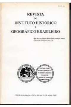Revista do Instituto Histórico e Geográfico Brasileiro