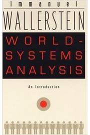 World - Systems Analysis  ( An Introduction)