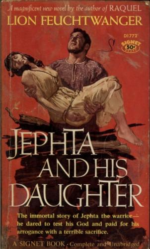 Signer D1772 - Jephta and His Daughter