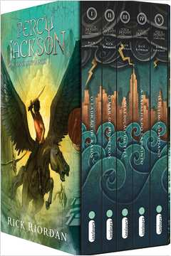 Percy Jackson e os Olimpianos - Box 5 Livros