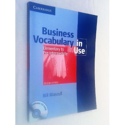 Business Vocabulary in Use Elementary Pre-intermediate - Second Ed.